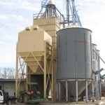 54 ton load out bin, feed mill
